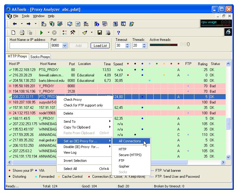 Рабочие Прокси Сервера России Бесплатно