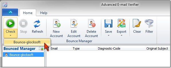 Advanced Email Verifier - process bounced emails