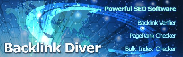backlink diver seo software 1 Email Marketing and SEO Solutions