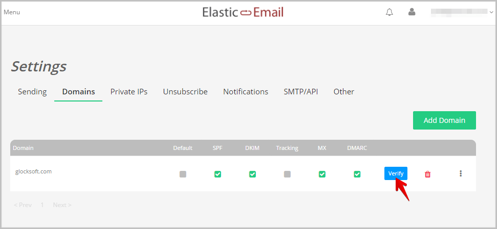 How to Use Elastic Email's SMTP Settings in EasyMail7