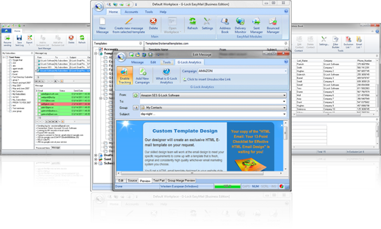 Click to view G-Lock EasyMail 6.89 screenshot