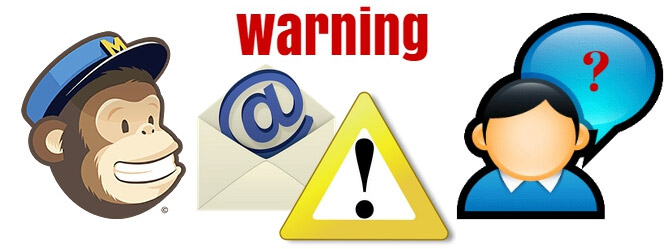 What to Do If You are Getting Warnings from MailChimp