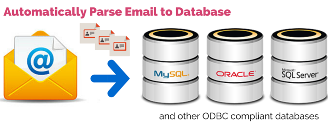 Extract data and parse email to database