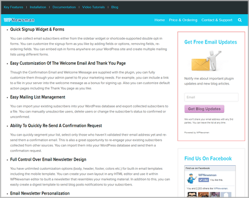 wpnewsman widget 500 How to Create an Email List