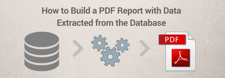 build-report-from-database